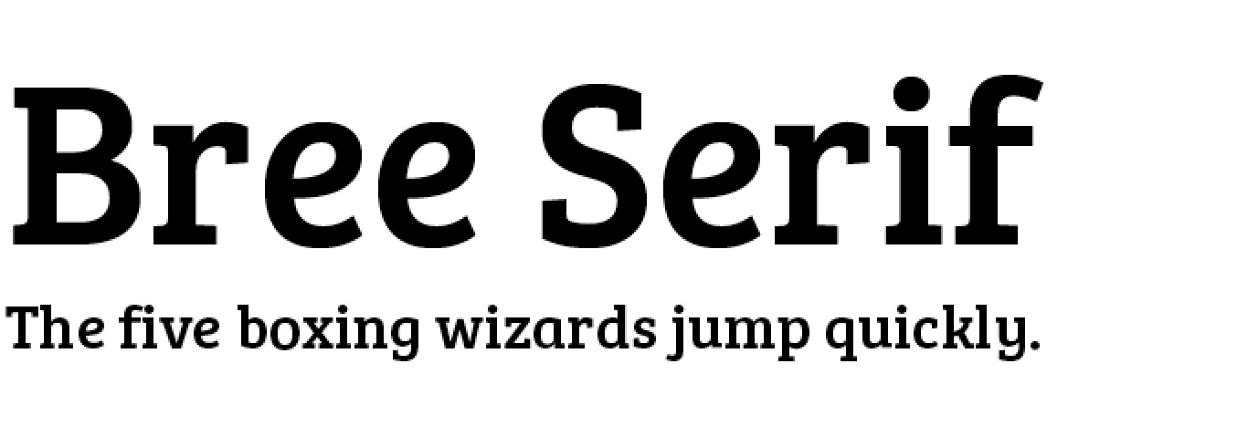 bree-serif-modern-serif-fonts
