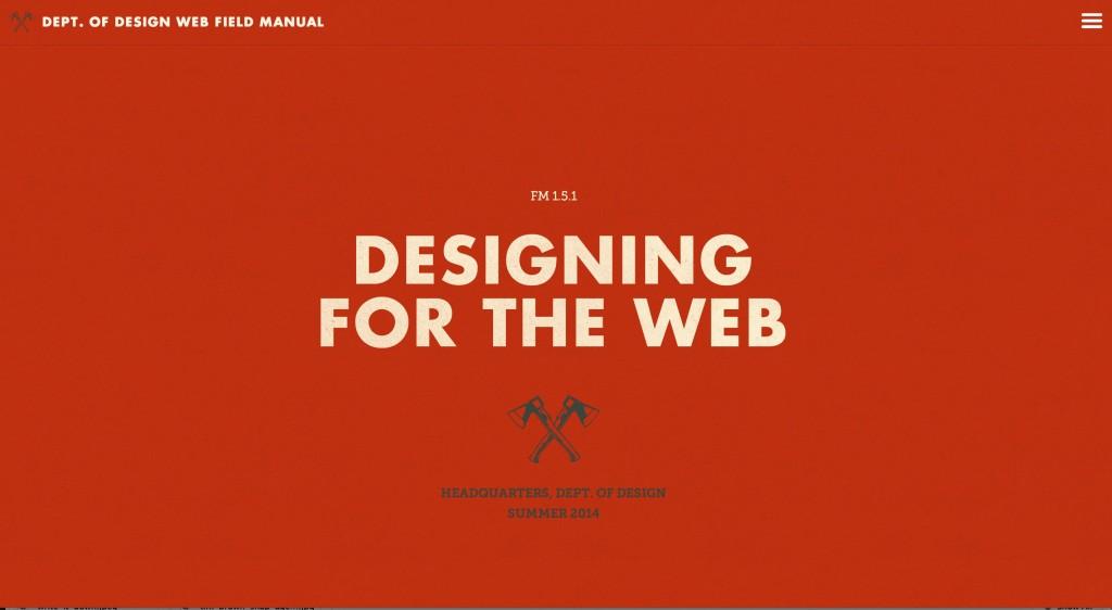Amazing websites of 2014, web designer tips