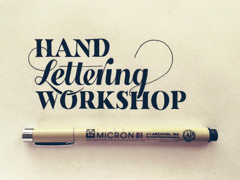 Hand Lettering - Sean Wes