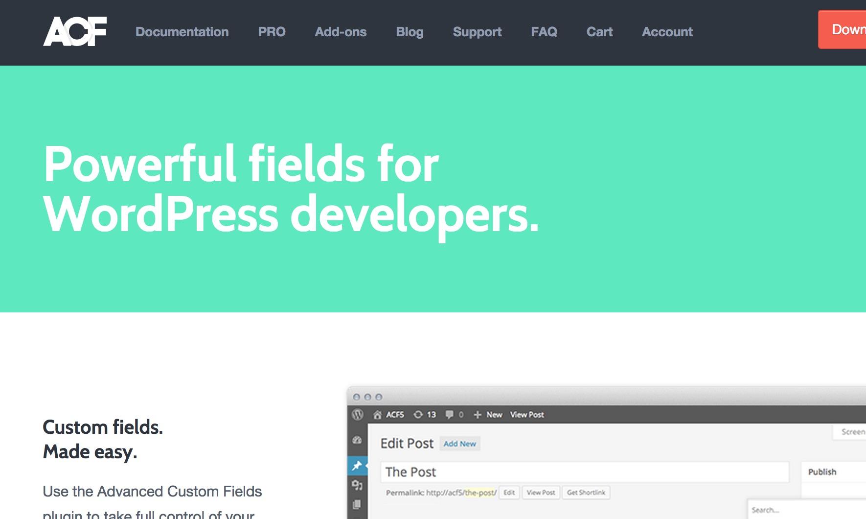 WordPress Plugin Wednesday: Advanced Custom Fields