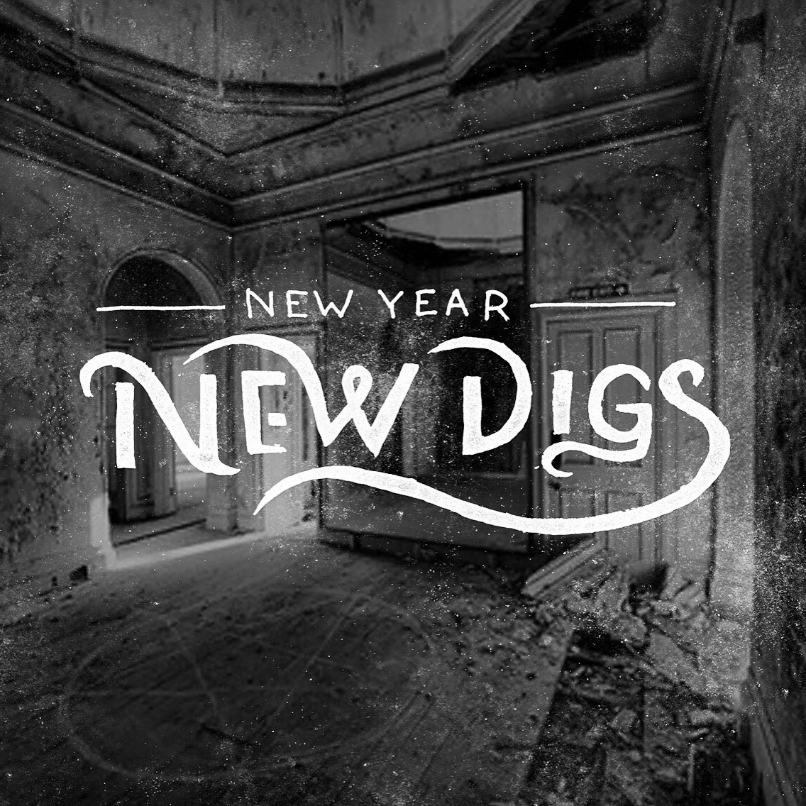 Hand Lettering, New Years and New Digs