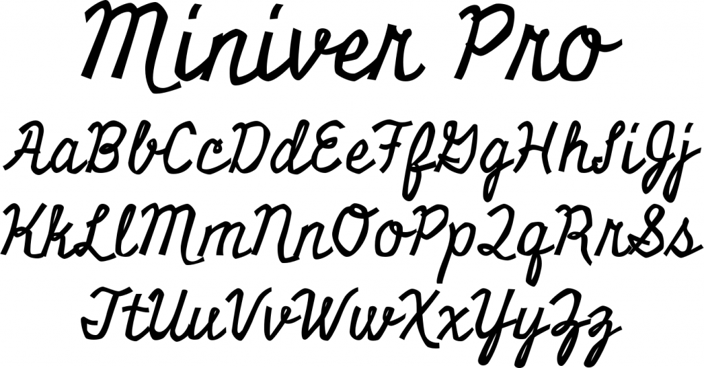 Miniver Free font download