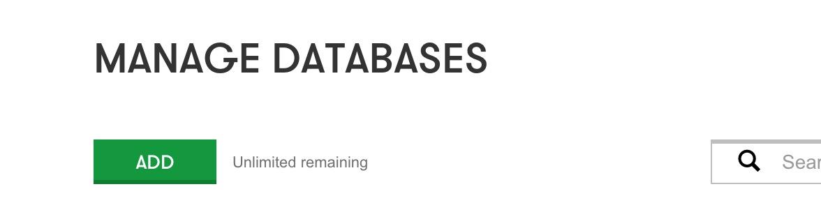 Add a New Database WordPress
