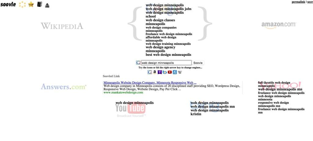 Soovle - keword research tools reiviewd
