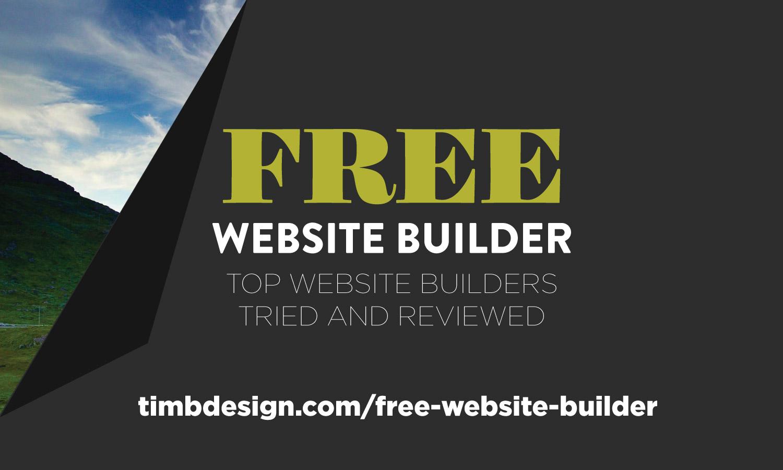 The Best Free Website Builder – Top Website Builders Tried and Reviewed