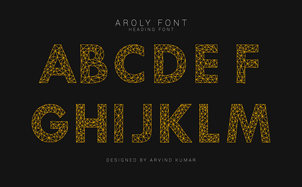 Geometric font- - modern fonts 2015 - the best top font of the year