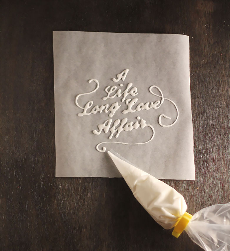 Glue Lettering - Object Lettering and Design