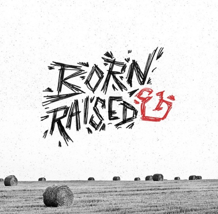 Born & Raised - Hand-lettering gorgeous examples