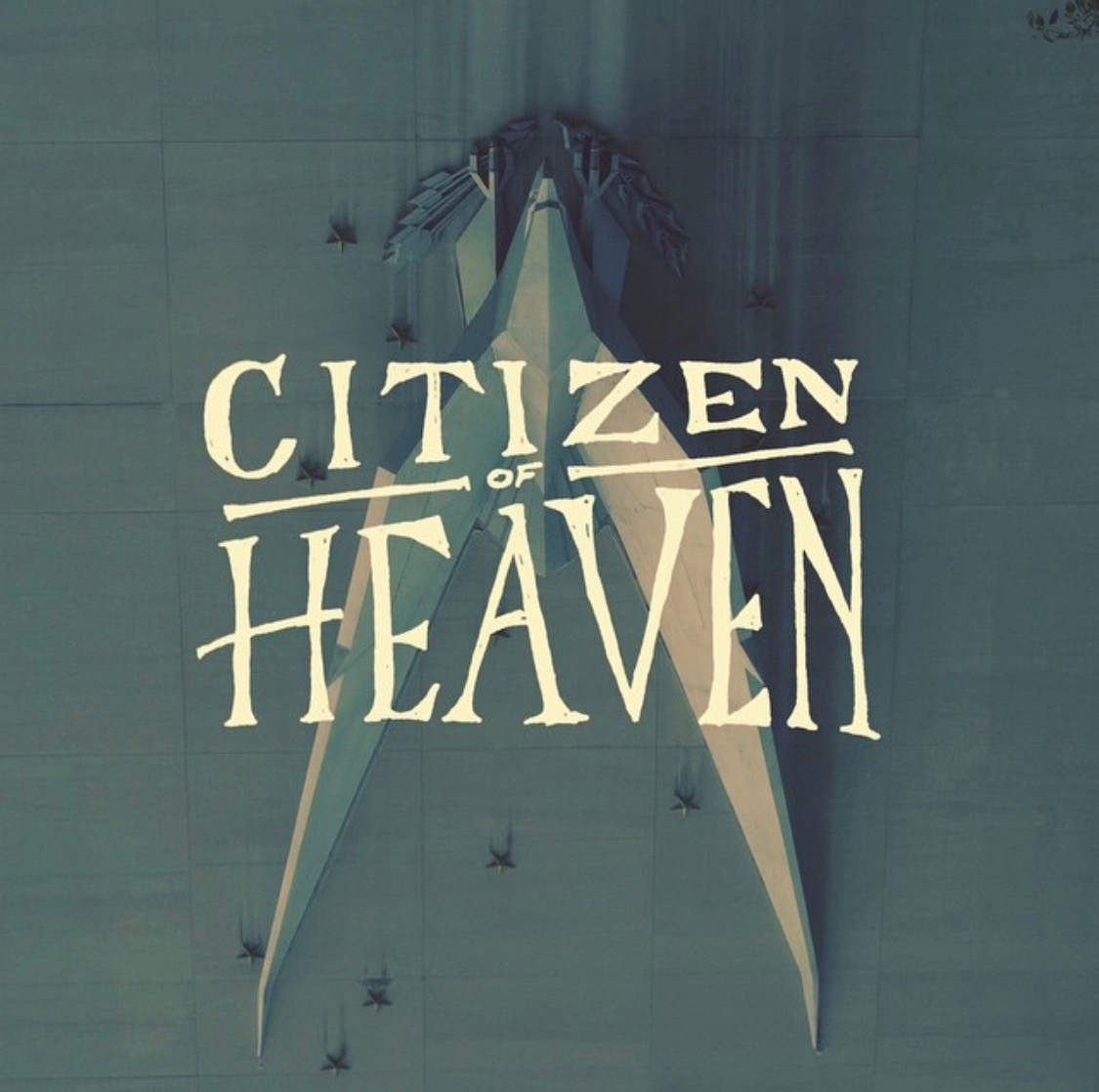 Citizen of Heaven Scratch design at an angle