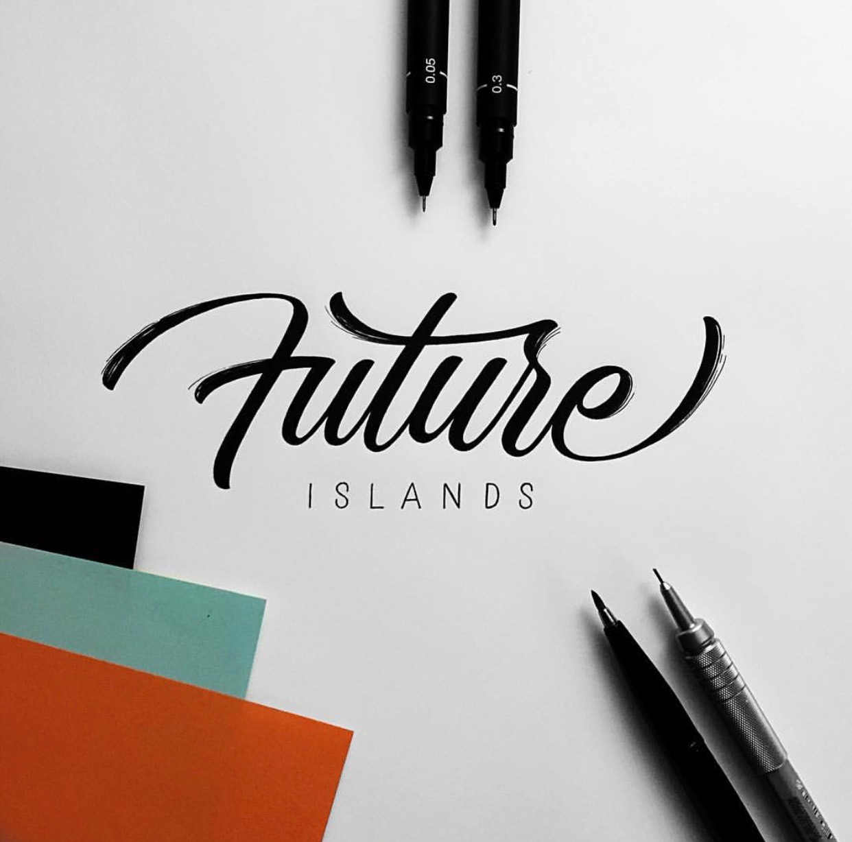 Future Islands - Hand-lettering inspiration