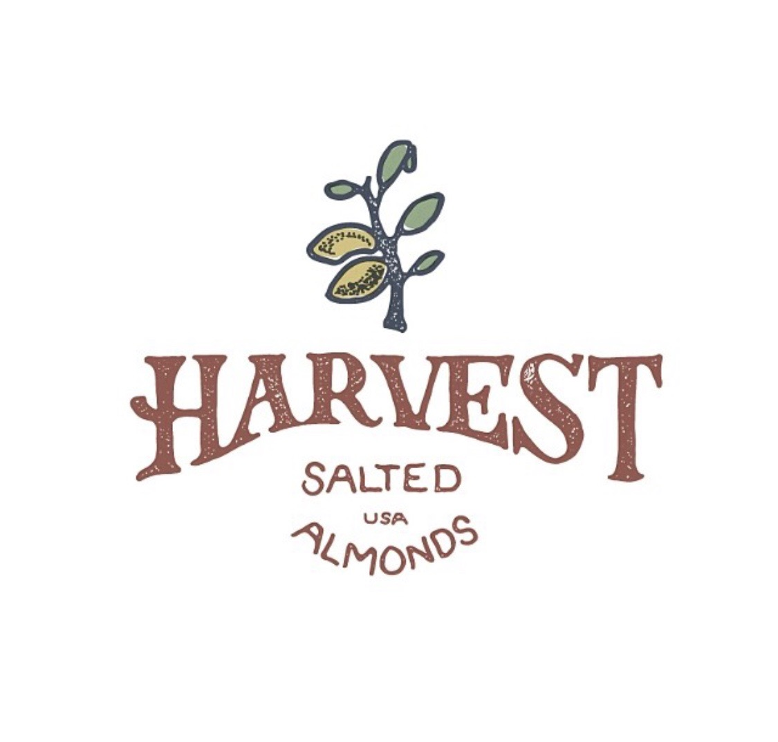 Harvest Salted Almonds, Branding