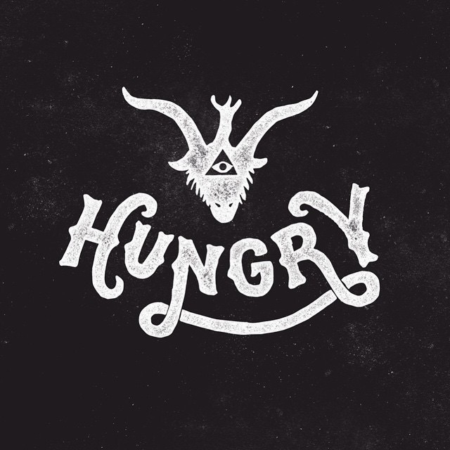 Hungry Hand-lettering Design