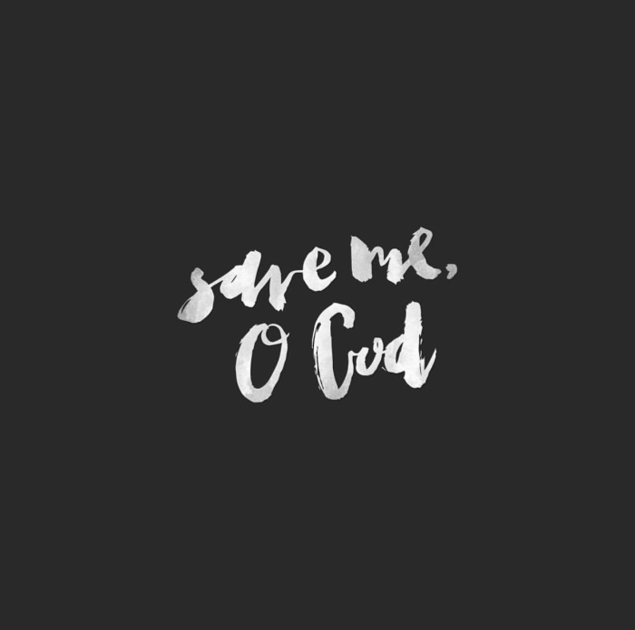 Save Me, O God, Hand-lettering inspiration and design