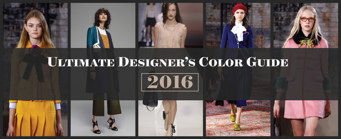Ultimate Designer's Color Guide for 2016