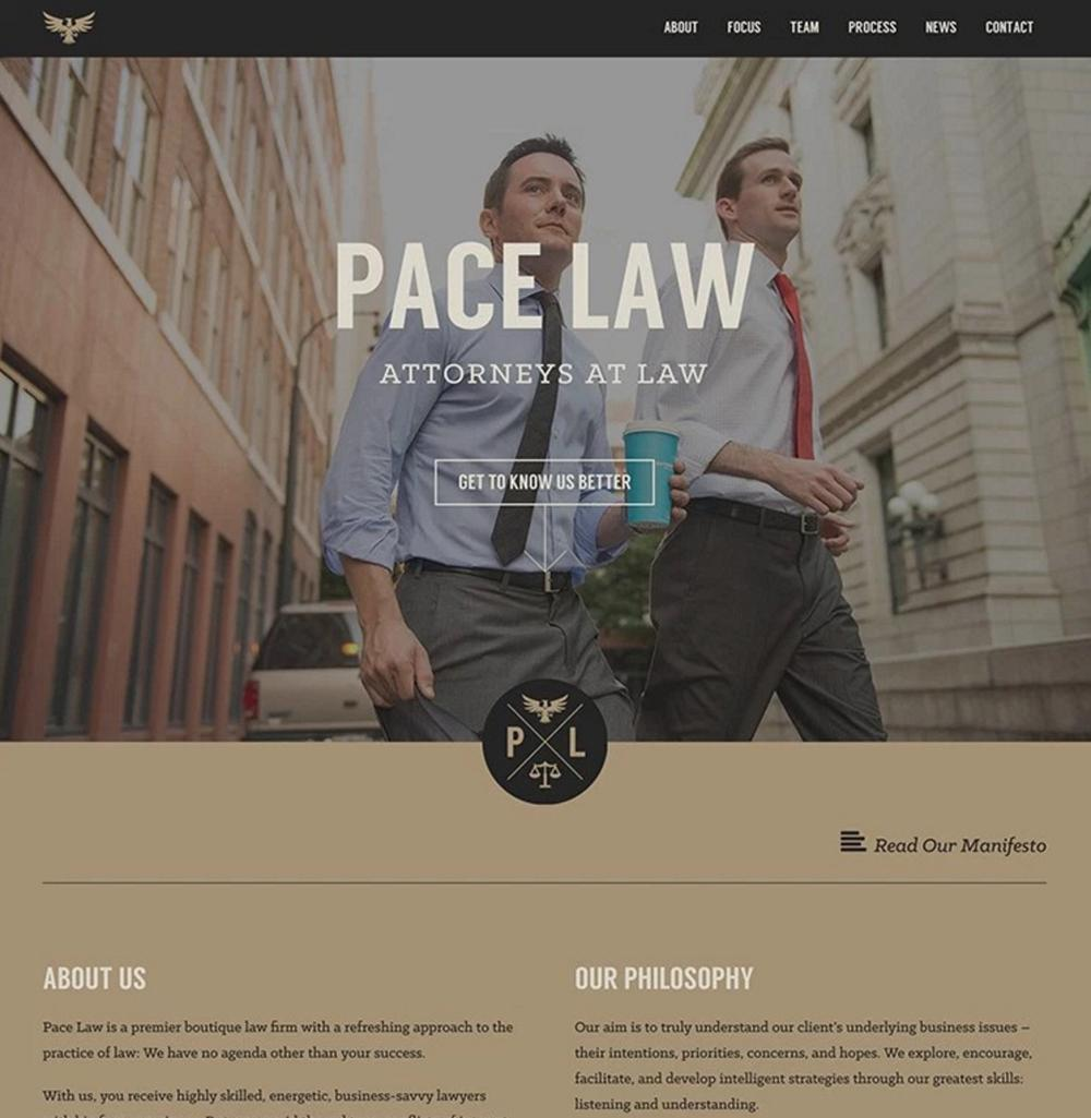 B & W + 1 Color scheme love - web design color scheme inspiration