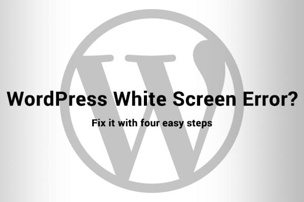 WordPress White Screen Error