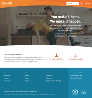Financial Website Design Inspiration